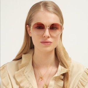 335a95db Chloe Carlina Chain Sunglasses NWT